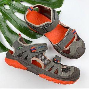 Merrell Sports Sandals Hydro Rapid Boys 4 Wide